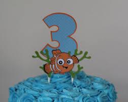 nemo cake toppers nemo cake topper etsy