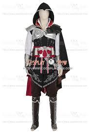 Assassin Halloween Costumes Ezio Auditore Da Firenze Costume Assassin U0027s Creed Ii Cosplay