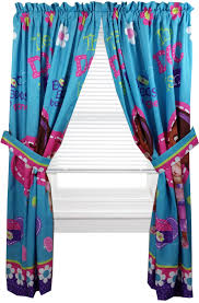 disney doc mcstuffins window panels curtains drapes 42in x
