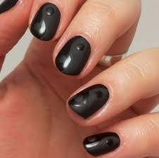 matte black gel nail art designs for 2017 styles art nails