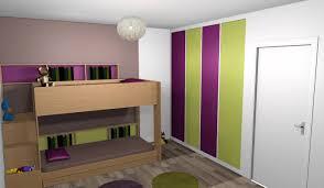 chambre bébé taupe et vert anis chambre enfants mixte deco lits mezzanines chambre enfant classique
