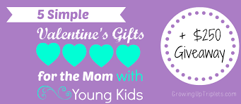 5 simple valentine u0027s gifts for the mom with young kids