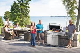 outdoor grill kitchen design custom home design