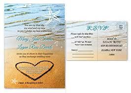 starfish wedding invitations sand starfish wedding invitations response