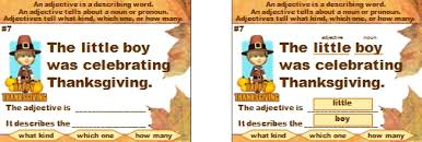 thanksgiving powerpoint lesson plans and activities for fall and autumn