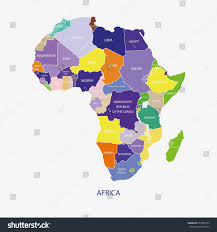 Ghana Africa Map Africa Map Illustration Vector Stock Vector 557389723 Shutterstock