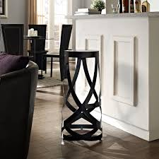 modern sleek kitchen design kitchen design fabulous unique black ribbon 30 u201d bar stool by