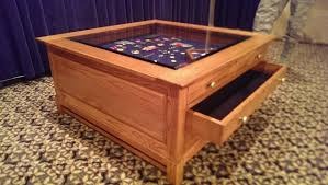 coffee table captivating shadow box coffee table ideas glass box