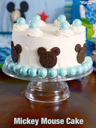 mickey mouse cake for a disney baby shower ad magicbabymoments