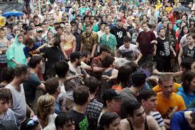mosh pit math physicists analyze rowdy crowd npr