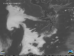 Wildfire Western Us by Goes 14 Srso R Coastal Fog Stratus And Wildfire Activity In The