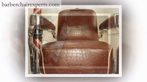 Old Barber Chair Barber Chair Repair Youtube
