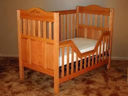 Crib With Mattress Oak Baby Crib