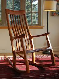 how to make a wooden outside rocking chairs