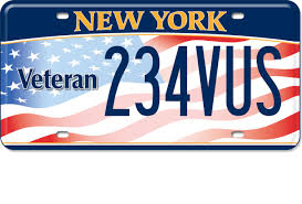 Dmv Vanity Plate Military And Veterans New York State Of Opportunity Department