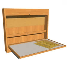 Folding Art Desk Ana White Flip Down Wall Art Desk Diy Projects Intended For