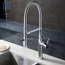 Chrome Kitchen Faucet One Handle Chrome High End Kitchen Faucets