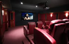 home theater systems offers home theater media rooms flat panel tv with surround sound
