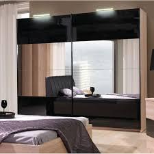 armoire chambre a coucher armoire dressing dali naturel 2m50 achat vente armoire de