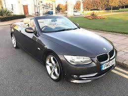 10 plate bmw 320i convertible e93 sat nav cream leather very clean