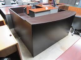 L Reception Desk by Wood U0026 Metal Desks