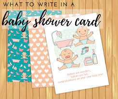 baby shower card what to write in a baby shower card cheekytummy