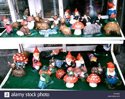 garden gnomes on sale stock photo royalty free image 9345553 alamy