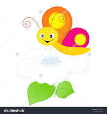 clipart butterfly see flower