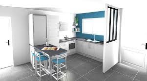 petit de cuisine petit bar cuisine cuisine ouverte sur salon luamricaine avec bar