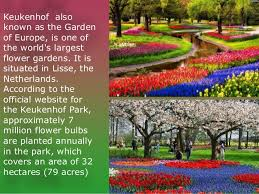 the most beautiful parks of the world