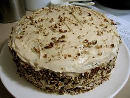 recipes for laughter spiced layer cake with maple cream cheese