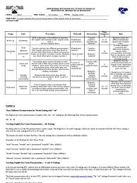 lesson plan regular verbs mariana english language grammatical