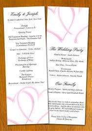 wedding bulletin template wedding program template by danbradster on deviantart