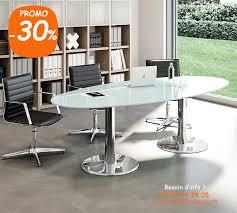 bureau reunion table de réunion ovale en verre trempé iceberg 2 achat vente