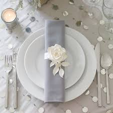 how to set a table with napkin rings modern rose napkin ring a paper flower napkin ring dresses up a