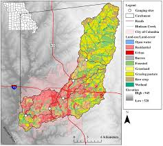 Columbia Missouri Map A Watershed Case Study U2013 Hinkson Creek To The Gulf Big Muddy