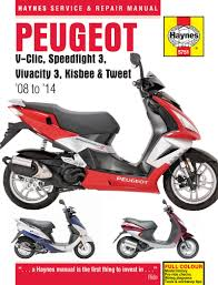 peugeot speedfight 3 haynes service u0026 repair manual v clic kisbee