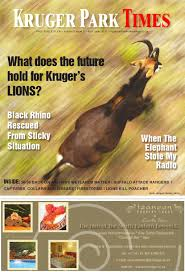 sle resume journalist position in kzn wildlife ezemvelo accommodation kruger park times by janke strauss issuu