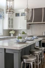 Light Gray Kitchens Pictures Of Kitchens With White Cabinets And Black Countertops