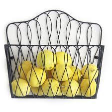 metal fruit basket wall mounted magazine rack fruit basket free shipping on orders