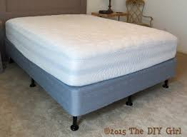 bed legs alternative to bed frame the diy