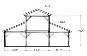 free barn plans monitor style barn kit horse barn plans barn building kits