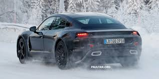 porsche winter spyshots porsche mission e goes winter testing image 749077