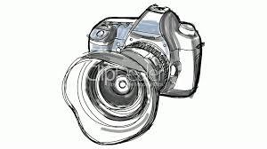 digital camera hand draw timelapse sketch royalty free video