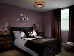 great gray and purple bedrooms in a modern design with black of