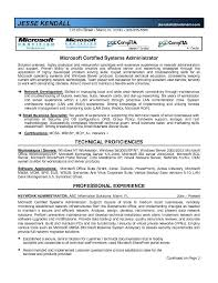 Database Administrator Resume Sample by System Administrator Resume Templates