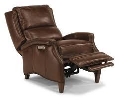 Flexsteel Leather Sofa Recliners Chairs U0026 Sofa Daytona Rr Peru Rosso Furniture Recliner