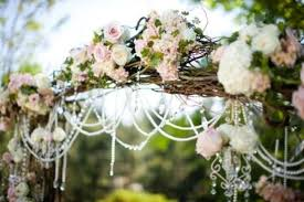 wedding arch lace wedding decorations