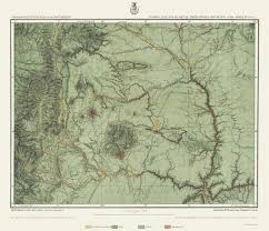 United States Topographical Map by Topographical Map New Mexico 1877