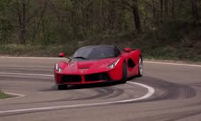 ferrari laferrari crash chris harris gets sideways in the ferrari laferrari video
